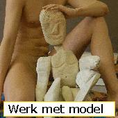 werken met een model